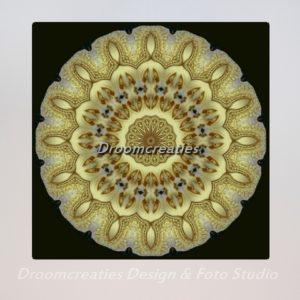 mandala_design_golden_solar_disc